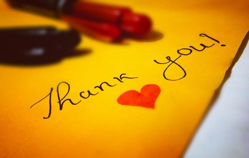 Thank you for your support during the COVID-19 crisis