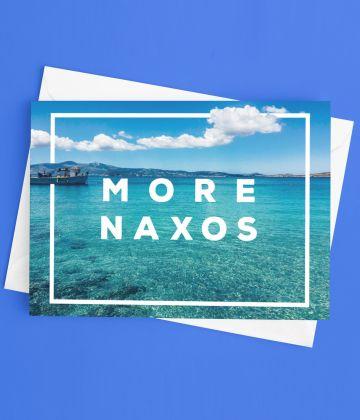 Postcard More Naxos