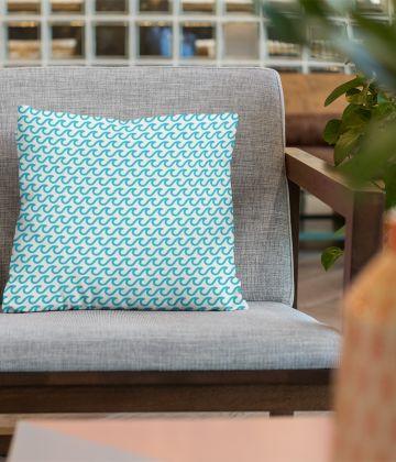 "Large cushion wave pattern ""Kimataki"""