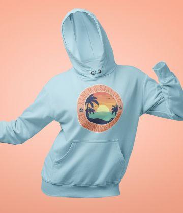 Xanemo Sailing Vintage Hoodie Sunset